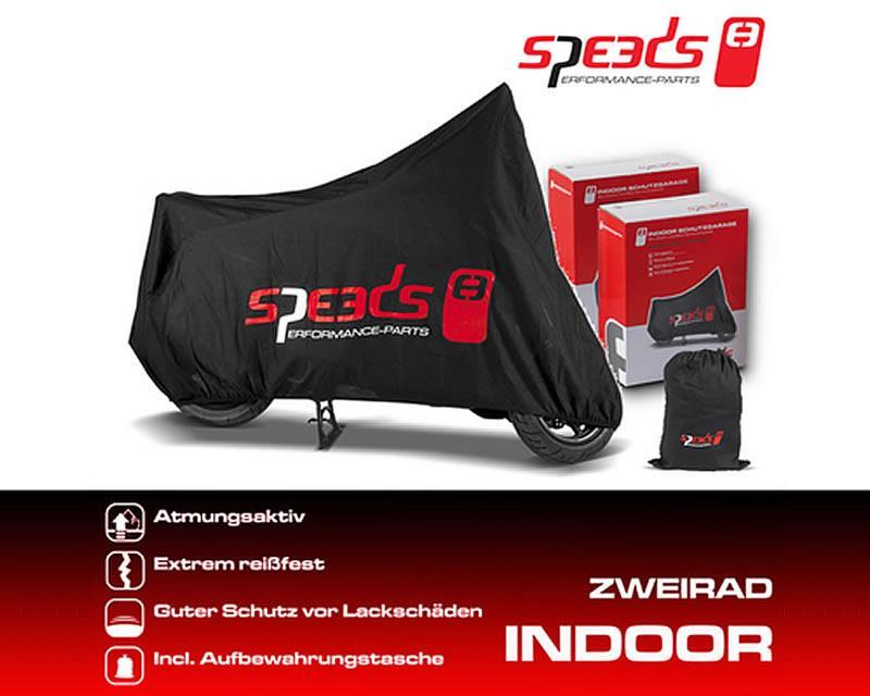 drive speeds abdeckplane indoor zweirad garage. Black Bedroom Furniture Sets. Home Design Ideas
