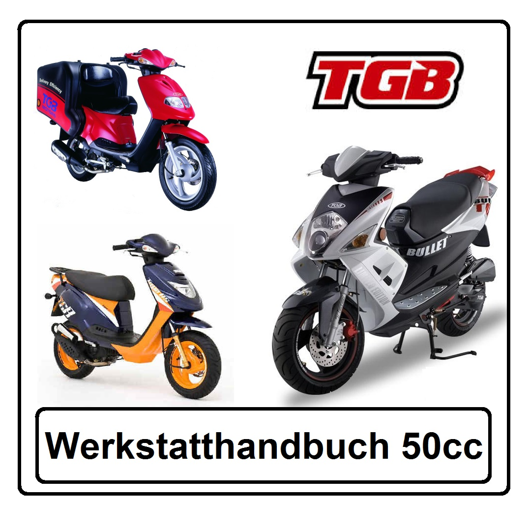 drive-shop24.de - Werkstatt-Handbuch Reparaturanleitung für TGB ...